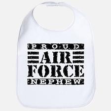 Proud Air Force Nephew Bib
