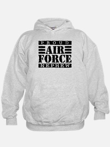Proud Air Force Nephew Hoodie