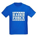 Air force uncle Kids T-shirts (Dark)