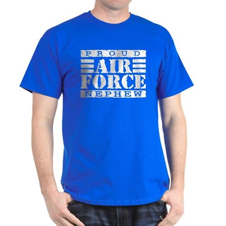 Proud Air Force Nephew Dark T-Shirt