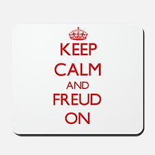 Keep Calm and Freud ON Mousepad