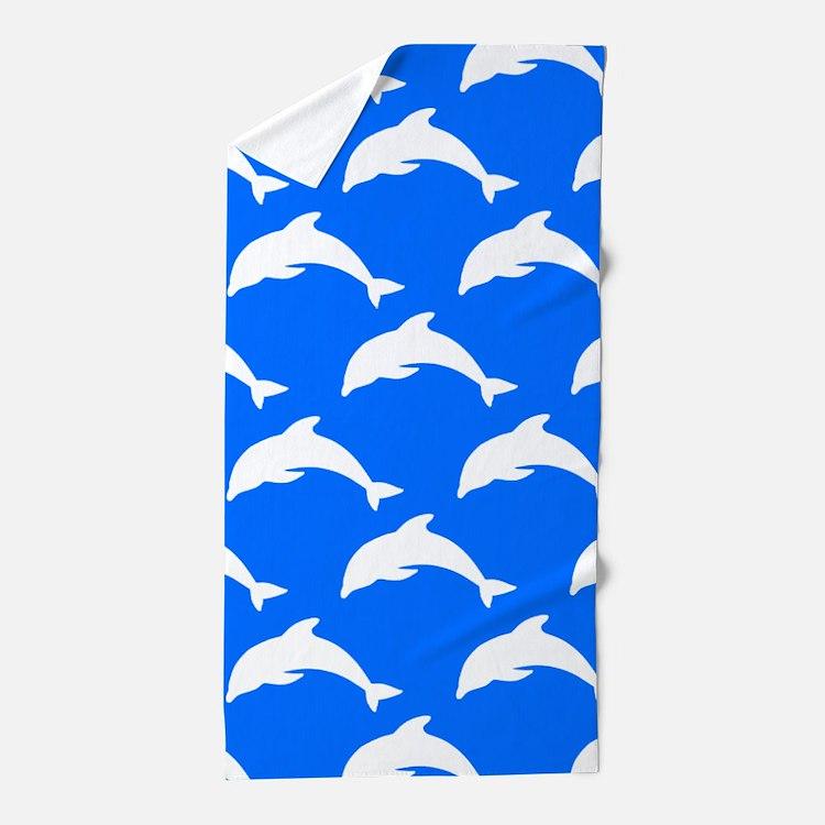 'Dolphins' Beach Towel