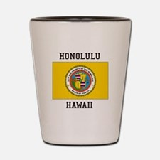 Honolulu, Hawaii Shot Glass