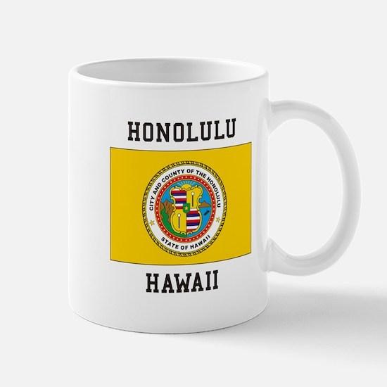 Honolulu, Hawaii Mugs