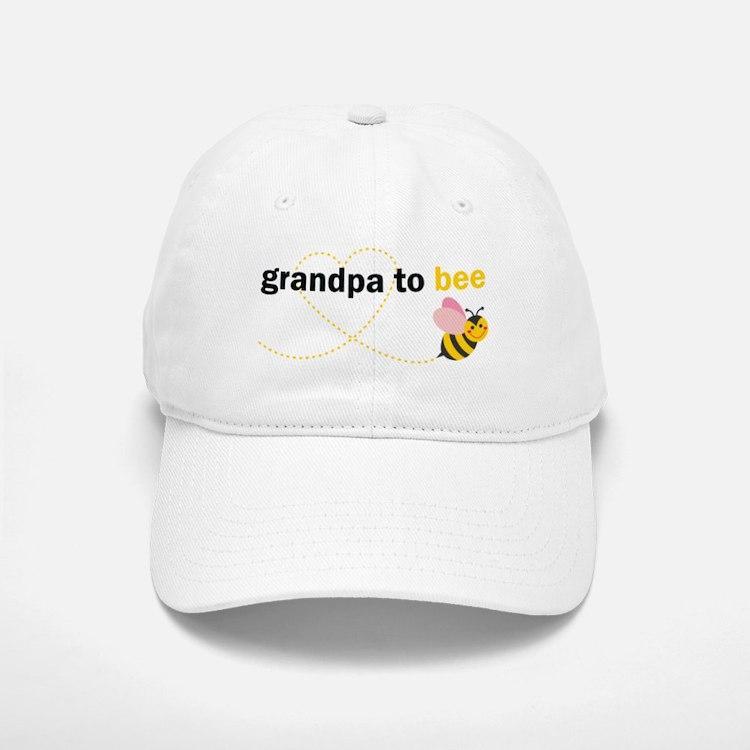 Grandpa To Bee Baseball Baseball Baseball Cap