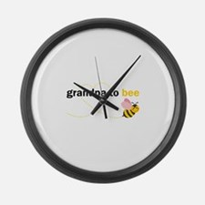 Grandpa To Bee Large Wall Clock