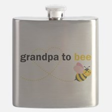 Grandpa To Bee Flask
