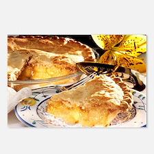 Apple Pie Dessert Postcards (Package of 8)