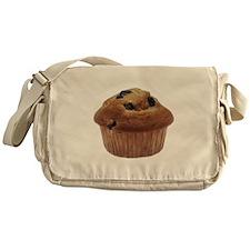 Blueberry Muffin Messenger Bag