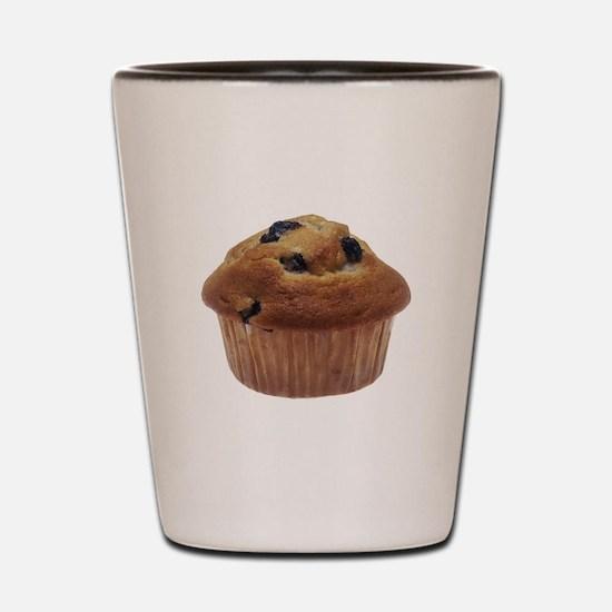 Blueberry Muffin Shot Glass