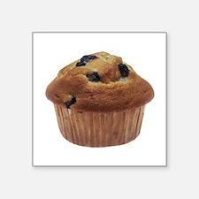"Blueberry Muffin Square Sticker 3"" x 3"""