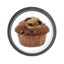 Blueberry Muffin Wall Clock