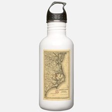 Vintage Map of The Nor Water Bottle