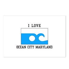 Ocean City, Maryland Postcards (Package of 8)