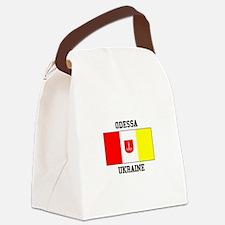 Odessa, Ukraine Flag Canvas Lunch Bag