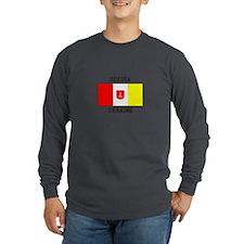 Odessa, Ukraine Flag Long Sleeve T-Shirt