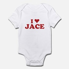 I LOVE JACE Infant Bodysuit