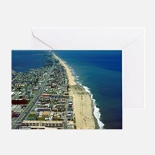 Aerial View of Ocean City Maryland Greeting Card