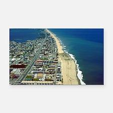 Aerial View of Ocean City Mar Rectangle Car Magnet
