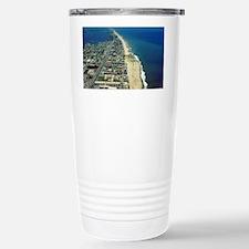 Aerial View of Ocean Ci Stainless Steel Travel Mug
