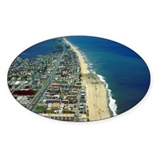 Aerial View of Ocean City Maryland Decal