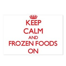 Keep Calm and Frozen Food Postcards (Package of 8)