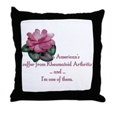 2.1 Million American's Throw Pillow