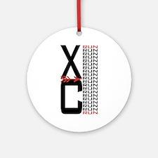 XCrunrun.png Ornament (Round)