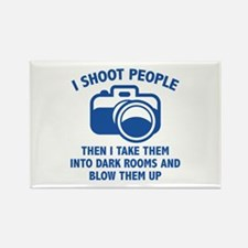 I Shoot People Rectangle Magnet (100 pack)