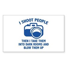 I Shoot People Decal