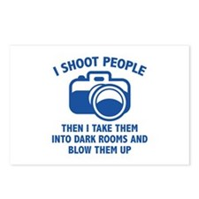 I Shoot People Postcards (Package of 8)