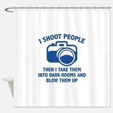 I Shoot People Shower Curtain