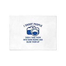 I Shoot People 5'x7'Area Rug