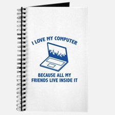I Love My Computer Journal