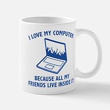 I Love My Computer Mug
