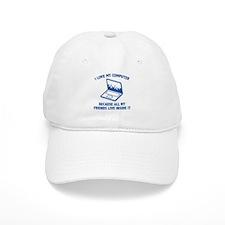 I Love My Computer Baseball Cap