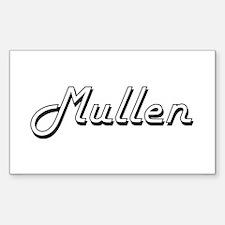 Mullen surname classic design Decal