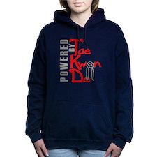 PoweredbyDK.png Women's Hooded Sweatshirt