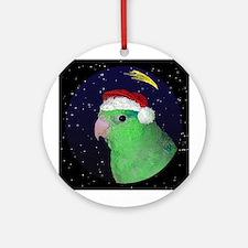 Christmas Night Parrotlet Christmas Ornament