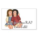 Do You Have RA? Rectangle Sticker