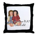 Do You Have RA? Throw Pillow
