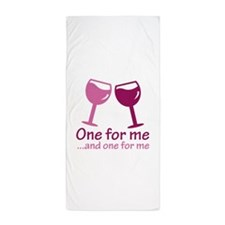 One For Me Beach Towel