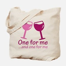 One For Me Tote Bag