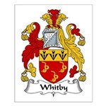 Whitby Family Crest Small Poster