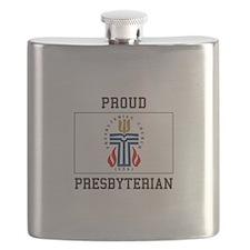 Presbyterian Flag Flask