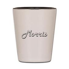 Morris surname classic design Shot Glass