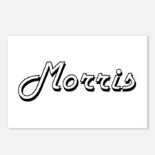 Morris surname classic de Postcards (Package of 8)