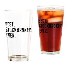Best Stockbroker Ever Drinking Glass