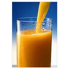 A Glass of Orange Juice Poster