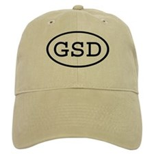 GSD Oval Baseball Cap